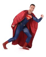 superman lycra - Breathable material Lycra Spandex Superman Costumes Zentai suits Halloween Costumes
