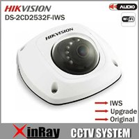 audio language - Multi language New Hikvision Dome Camera DS CD2532F IWS audio Wifi MP Mini dome Up to m IR Network camera DS CD2532F IWS