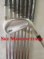 Wholesale 2015 New CB Forged golf irons with steel shaft P Right handed golf clubs set