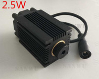 Wholesale 2 W nm blue light laser moudle with holder Heat sink for laser engraving machine engraver diy