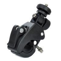 Wholesale Bike Bicycle Motorcycle Clamp Mount Base Holder for DV Digital Camera Black