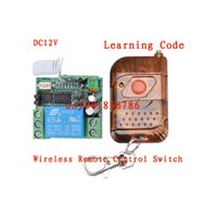 battery relay switch - DC v A relay CH wireless RF Remote Control Switch Transmitter With Battery Receiver Case