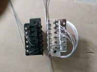 Wholesale Electro acoustic guitar bridge White Black Gold Single roll electric guitar bridge