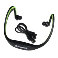 Cheap Wireless Bluetooth Headphone Earphone Hifi Stereo Stero Headset for PC MP3 MP4 iPod Mobile(Green)