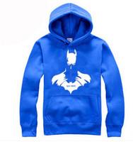 batman costume hoodie - Batman Hoodie Autumn Winter Personality Mens Sports Costumes Casual Pullover Sweatshirts For Men Tracksuits Batman Clothes