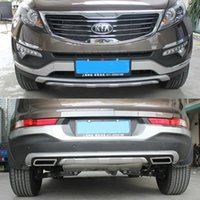 Wholesale KIA Sportager High quality plastic ABS Chrome Front Rear bumper cover trim
