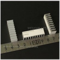 aluminium extruded profiles - mm DIY Extruded Epoxy Attach On Heatsink With Thermal Tape Aluminium Profile For DIP