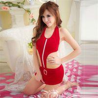 auto show models - NEW Women s Red Auto Show Model Lingerie Dress Cosplay Sexy Night Club Sleepwear