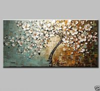 Cheap 2015 New 100%New MODERN ABSTRACT CANVAS ART WALL DECOR OIL PAINTING NO framed