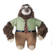bear flash game - 2016 NEW Flash Fastest Bear Plush Toys Zootopia stuffed animal Doll Mad city Plushs Toy Movies TV Cartoon Video Kids Dolls