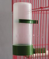 bird cage mini - 5PCS Promotional Price Automatic Water Feeder Drink Bottle Cage Supplies for Bird Parrot Pigeon Mini Pets