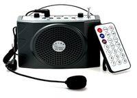 Wholesale portable speakers Digital Megaphone Microphone Voice Amplifier Loudspeaker Audio Booster External Speaker With FM Radio USB portable speaker