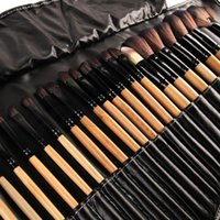 best makeup brush kits - Stock Clearance Print Logo Makeup Brushes Professional Cosmetic Make Up Brush Set The Best Quality