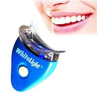 Wholesale Dental Personal Oral Hygiene Care Teeth Whitening Light Dental Tooth Teeth Whitener Whitelight Kit Set With OPP Package Free DHL