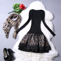 Cheap Loaprd Knitted 2014 Women Dresses Wholesale Clothing Woman Clothes High Fashion Designer Brands 2014 New Women c1351122c32244035897