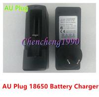 Wholesale Universal v mA au plug battery chargers for Electronic cigarette e cig flashlight batteries