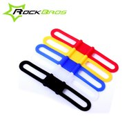 Wholesale ROCKBROS Bicycle Light Speedometer Pump Ribbon MTB Bike Fixed Rubber Band High Elasticity Ropes For Bicycle