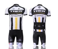 trek bike - 1PCS Wicking Trek Short sleeves Cycling Jerseys Bicycle jersey Cycling Kit Cycling jersey Suits Cycling Wear Bike Suit Cycle bodysuits