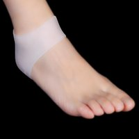 Wholesale Silicone Moisturising Gel Heel Cracked Foot Care Protectors Socks for Men and Women Pair Foot Care Tool