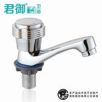 bathroom pedestal basins - Mu Quan bathroom full copper single cold faucet basin faucet pedestal basin faucet quick opening JY