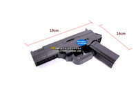 Wholesale No Air Gun Enlighten Set d Construction Brick Block Building Model Black Gun Pistol Toys For Boys With Manual