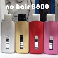 hair packaging - 8800 No hair Kodak electric epilator pull the wool device women s full body Pink hair removal system Gift Simple Package