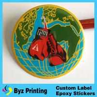 animal shapes custom - custom make graphic epoxy dome sticker round shape clear epoxy resin sticker