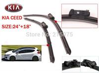 accessories for auto kia - Auto car windshield wiper blade for kia ceed Natural Rubber Car Wiper blades Car Accessory accessories