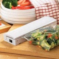 fresh food - 1pcs Hot Sale Vacuum Heat Sealer Sealing Seal Stay Fresh Freezer Food Storage Bag Lunch Kit Vacuum Food Sealer