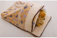 Wholesale Removable and washable dog mat pet supplies export Teddy fall and winter warm spot cartoon small dog kennel cat litter