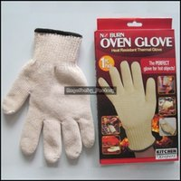 Wholesale Oven Glove Cotton Heat Resistant Themal Glove Kitchen Oven Mitt The Perfect Glove For Hot Object Kitchen Keepers Glove