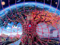 alex grey - poster x24 quot x13 quot Trippy Alex Grey Wall Poster Print Home Decor Wall Stickers poster Decal