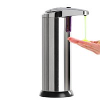 Wholesale Stainless Steel Hands Free Automatic IR Sensor Touchless Soap Liquid Dispenser