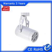 Wholesale Dimmable LED Track Light COB Spotlight w Factory Supply Warranty Years Epistar Chip CE RoHS