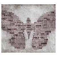 art newspapers - Newspaper Words Butterfly Art Custom Classic Stylish Nice Home Decor Retro Poster x76cm Wall Sticker