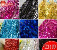 Wholesale 18mm big size sequin dress lace fabric mm paillette Shining large cm