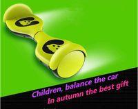 Wholesale new version children intelligent balanced car a two wheel electric twisting car thinking body feeling car instead of walking