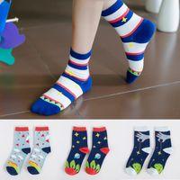 Wholesale A095 cotton socks socks goods Zhuo South Korea personalized cartoon socks cotton socks new autumn Ms