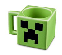 Wholesale 2014 New Arrived Minecraft Creeper JJ Coffee Cup Green Drinkware Tumbler Tumblerful Retail Box