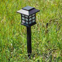 mini solar light garden - 2015 Hot Sale Top Fashion Ip65 Street Portable Indoor Sl Led Solar Light Solar Energy Lawn Lamp Garden Light Mini Small Palace Lantern