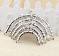 purse clasp - Patchwork Fabric Handmade DIY Coin Purse A Set of CM Purse Metal Frame Clasp Kiss Clasp