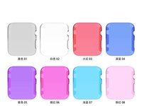 Wholesale Apple Watch Case Ultra Thin Slim Crystal Clear Transparent PC Cover Skin For Apple Watch mm mm iwatch