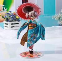 Wholesale 22CM Good Smile Puella Magi Madoka Magica Kaname Madoka Maiko Ver PVC Action Figure Toy