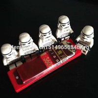 Wholesale Building minifigure brick toys STAR WARS Custom Stormtrooper white solider minifigure with gun Storm Trooper minifigs