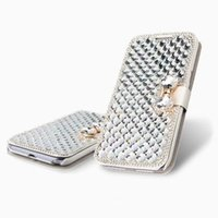 galaxy note 2 - Details about For Samsung Galaxy S7 Note Note Note4 iPhone plus S6 Edge Bling Diamond Leather Case Cover