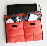 Wholesale New Fashion Protective Pad Handbag Multifunction Soft Bag In Bag Colors Portable Travel Storage Gadget Pouch Digital