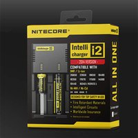Wholesale Nitecore I2 Universal Charger Clone for Battery E cigs US EU AU UK Plug in Intellicharger Battery Chargers