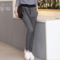 Wholesale Brand New Fashion High Quality Autumn Women Wild Stretch Slim Feet Harem Pants