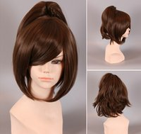 Wholesale Japanese anime wig wig short hair wig Cosplay Wig spot role play free ship role play