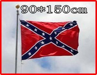 Wholesale Hi Q cm cm two Printed Flag Confederate Rebel Civil War Flag Confederate Battle Flags National Polyester Confederate Flag by the USA